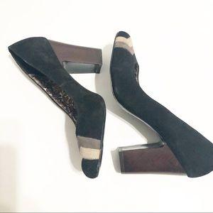 Missoni for Target Black Suede Heels